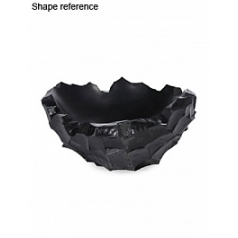 Кашпо Plants First Choice Ocean bowl black, чёрного цвета round  Диаметр — 60 см