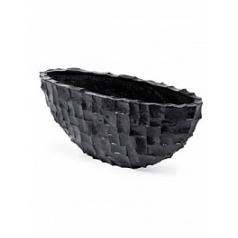 Кашпо Plants First Choice Ocean oval black, чёрного цвета Длина — 100 см