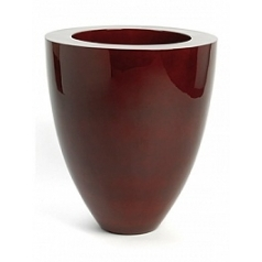 Кашпо Plants First Choice Poly plus exclusive oxblood red, красного цвета round  Диаметр — 73 см