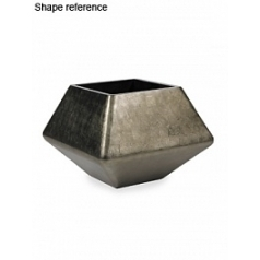Кашпо Plants First Choice Square planter platinum Длина — 62 см