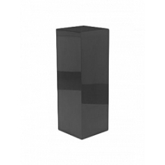 Пьедестал Plants First Choice Deco square wooden pillar anthracite, цвет антрацит shine Длина — 35 см