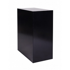 Пьедестал Plants First Choice Deco square wooden pillar black, чёрного цвета shine Длина — 75 см
