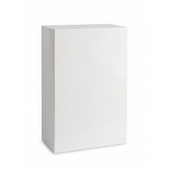 Пьедестал Plants First Choice Deco square wooden pillar white, белого цвета shine Длина — 75 см