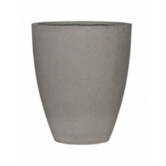 Кашпо Pottery Pots Eco-line ben l, brushed cement  Диаметр — 47 см