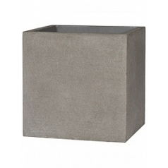 Кашпо Pottery Pots Eco-line block l, brushed cement Длина — 50 см