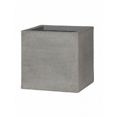 Кашпо Pottery Pots Eco-line block m, brushed cement Длина — 40 см