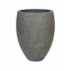 Кашпо Pottery Pots Eco-line bond M размер laterite grey, серого цвета  Диаметр — 48 см