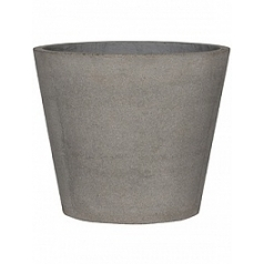 Кашпо Pottery Pots Eco-line bucket l, brushed cement  Диаметр — 58 см