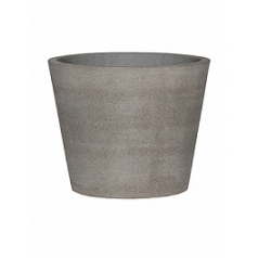 Кашпо Pottery Pots Eco-line bucket m, brushed cement  Диаметр — 50 см