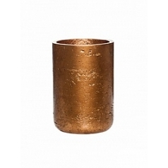Кашпо Pottery Pots Eco-line carlyn metalic copper  Диаметр — 12 см