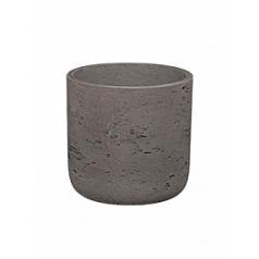 Кашпо Pottery Pots Eco-line charlie XS размер chocolate  Диаметр — 12 см