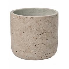 Кашпо Pottery Pots Eco-line charlie XS размер grey, серого цвета washed  Диаметр — 12 см