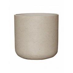 Кашпо Pottery Pots Eco-line charlie XXL размер grey, серого цвета washed  Диаметр — 44 см