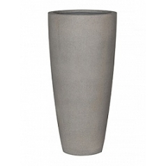 Кашпо Pottery Pots Eco-line dax xl, brushed cement  Диаметр — 47 см