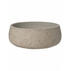 Кашпо Pottery Pots Eco-line eileen L размер grey, серого цвета washed  Диаметр — 35 см