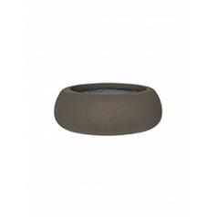 Кашпо Pottery Pots Eco-line eileen xl, sand cement  Диаметр — 36 см