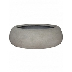 Кашпо Pottery Pots Eco-line eileen xxl, brushed cement  Диаметр — 53 см