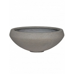 Кашпо Pottery Pots Eco-line eliza, brushed cement  Диаметр — 55 см