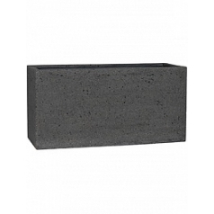 Кашпо Pottery Pots Eco-line jort m, laterite grey, серого цвета Длина — 100 см