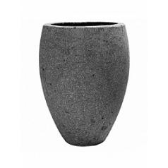 Кашпо Pottery Pots Eco-line mini bond laterite grey, серого цвета  Диаметр — 20 см