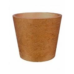 Кашпо Pottery Pots Eco-line mini bucket L размер metallic copper  Диаметр — 23 см