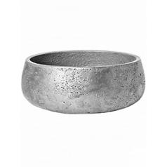 Кашпо Pottery Pots Eco-line mini eileen L размер metalic под цвет серебра  Диаметр — 35 см