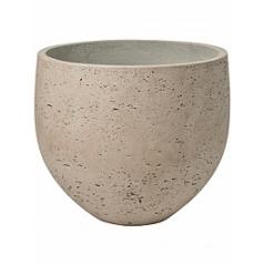 Кашпо Pottery Pots Eco-line mini orb L размер grey, серого цвета washed  Диаметр — 32 см