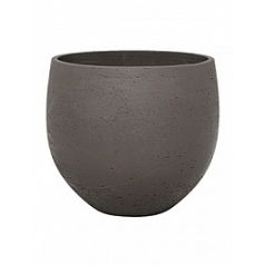 Кашпо Pottery Pots Eco-line mini orb S размер chocolate  Диаметр — 18 см