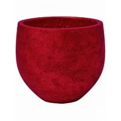 Кашпо Pottery Pots Eco-line mini orb S размер metalic red, красного цвета  Диаметр — 18 см