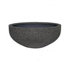 Кашпо Pottery Pots Eco-line morgan m, laterite grey, серого цвета  Диаметр — 54 см