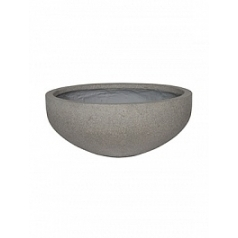 Кашпо Pottery Pots Eco-line morgan s, brushed cement  Диаметр — 44 см