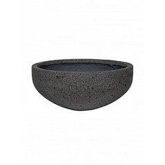 Кашпо Pottery Pots Eco-line morgan s, laterite grey, серого цвета  Диаметр — 44 см