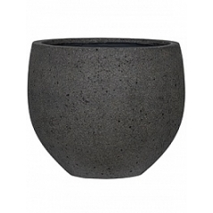 Кашпо Pottery Pots Eco-line orb l, laterite grey, серого цвета  Диаметр — 53 см