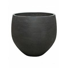 Кашпо Pottery Pots Eco-line orb XXL размер black, чёрного цвета washed  Диаметр — 48 см