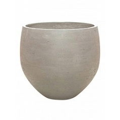 Кашпо Pottery Pots Eco-line orb XXL размер grey, серого цвета washed  Диаметр — 48 см