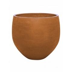 Кашпо Pottery Pots Eco-line orb XXL размер metallic copper  Диаметр — 48 см