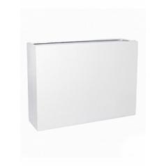 Кашпо Pottery Pots Fiberstone glossy white, белого цвета jort slim L размер Длина — 124 см