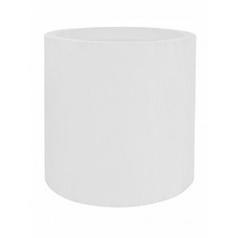 Кашпо Pottery Pots Fiberstone glossy white, белого цвета jumbo max L размер  Диаметр — 90 см