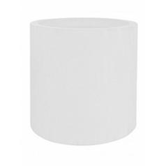 Кашпо Pottery Pots Fiberstone glossy white, белого цвета jumbo max M размер  Диаметр — 70 см