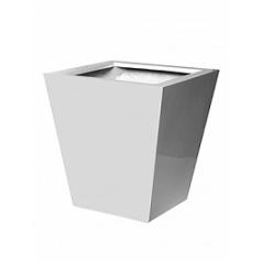Кашпо Pottery Pots Fiberstone glossy white, белого цвета jumbo thom L размер Длина — 88 см