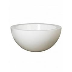Кашпо Pottery Pots Fiberstone glossy white, белого цвета vic bowl  Диаметр — 60 см