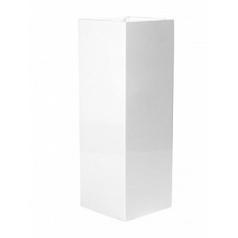 Кашпо Pottery Pots Fiberstone glossy white, белого цвета yong Длина — 35 см