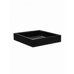 Кашпо Pottery Pots Fiberstone jack black, чёрного цвета S размер Длина — 40 см