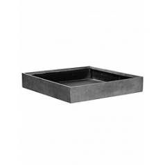 Кашпо Pottery Pots Fiberstone jack grey, серого цвета L размер Длина — 60 см