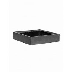 Кашпо Pottery Pots Fiberstone jack grey, серого цвета S размер Длина — 40 см
