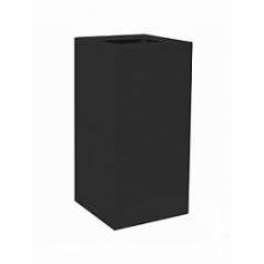 Кашпо Pottery Pots Fiberstone jan des bouvrie glossy black, чёрного цвета taulon Длина — 30 см