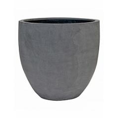 Кашпо Pottery Pots Fiberstone jesslyn grey, серого цвета M размер  Диаметр — 60 см