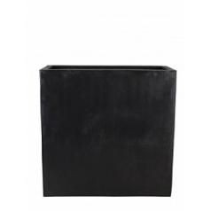 Кашпо Pottery Pots Fiberstone jort black, чёрного цвета XL размер Длина — 100 см