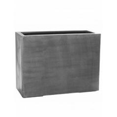 Кашпо Pottery Pots Fiberstone jort grey, серого цвета L размер Длина — 95 см