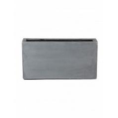 Кашпо Pottery Pots Fiberstone jort grey, серого цвета S размер Длина — 80 см